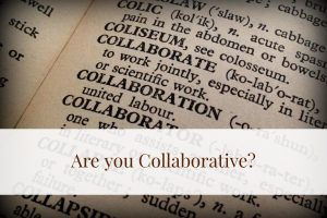 Team Players are Collaborative — Are You?