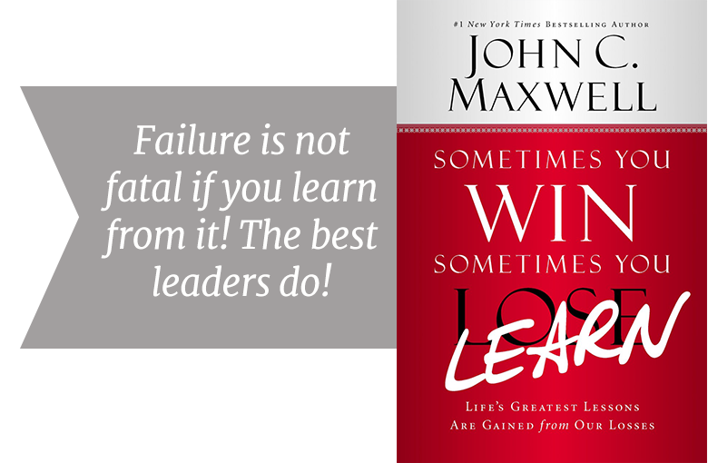 Sometimes you learn - leadership lessons